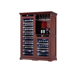 Commercial Wood Wine Cellar Cabinet