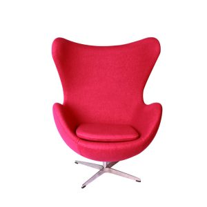Arne Jacobsen Egg Lounge Chair Red