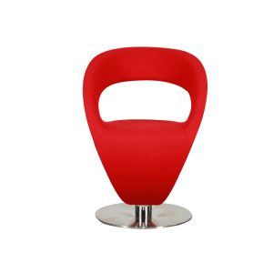 Infiniti Pin Up Swivel Chair Red