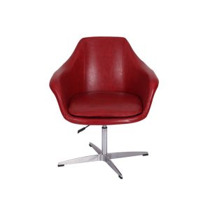 Twirl Swivel Leather Chair