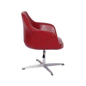 Twirl Swivel Leather Chair
