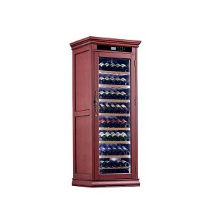 Wood Wine Fridge Cooler Cabinet