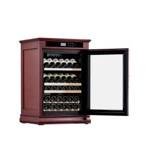 Wood Wine Cooler Cabinet