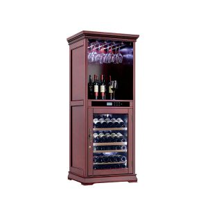 Wooden Wine Cellar Cooler Cabinet Furniture